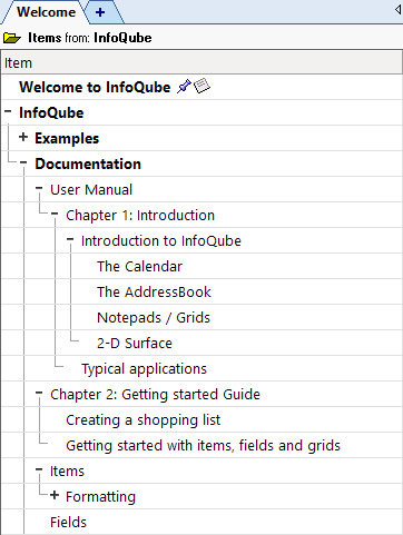 InfoQube User Manual